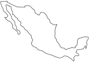 Maxico Map