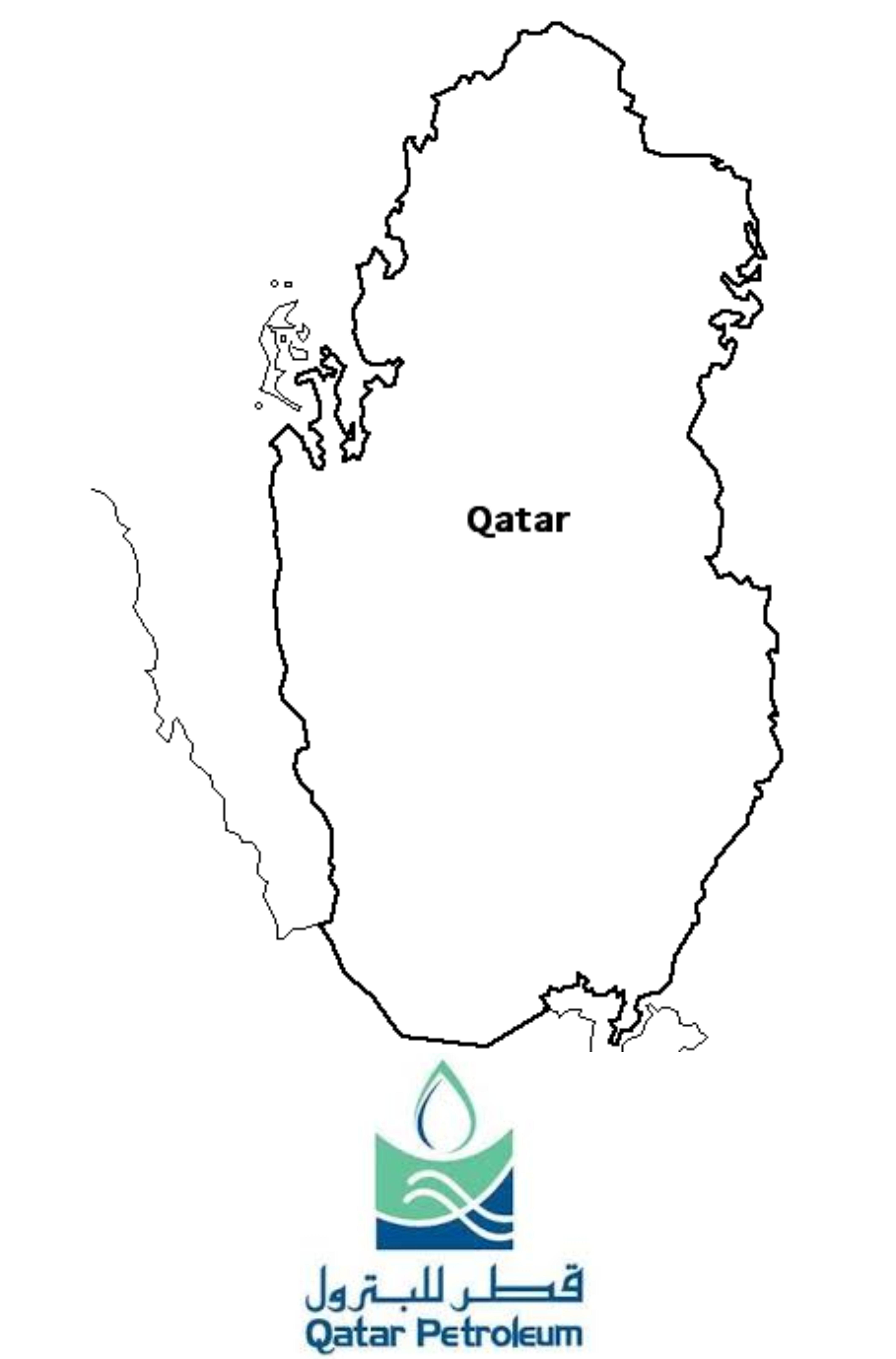 Qutar Map