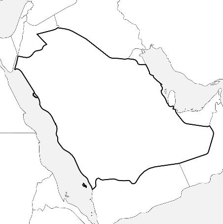 Saudi Arebia Map
